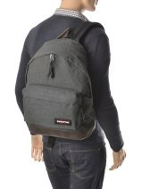 Backpack Wyoming Eastpak Gray authentic K811-vue-porte