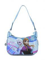 Shoulder Bag Reine des neiges Blue tartan 30604
