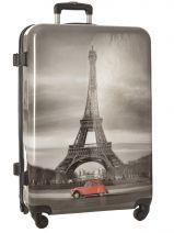 Valise Rigide Print Shinny Travel Multicolore print shinny PT1345-L