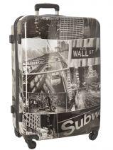 Valise Rigide Print Shinny Travel Multicolore print shinny PT1920-L