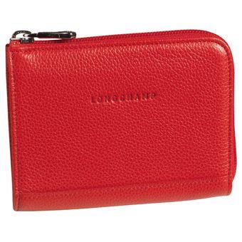 Longchamp Veau foulonné Coin purse