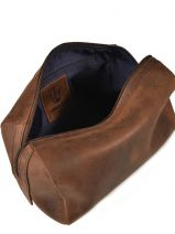 Toiletry Kit Leonhard heyden Brown salisbury 7615-vue-porte