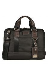 Briefcase 1 Compartment Tumi Brown alpha bravo DH22610