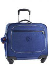 Wheeled Schoolbag Kipling Blue back to school 15380