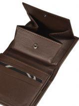 Purse Leather Etrier Brown dakar 200031-vue-porte