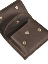 Purse Leather Foures Brown 917-vue-porte