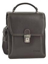 Messenger Bag 2 Compartments Etrier Brown 22230