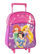 Wheeled Backpack 1 Compartment Princess Pink true princess 27907