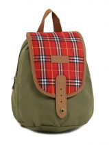 Lunch Bag 1 Compartment Kickers Green pre kids garcon 502310
