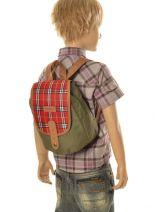 Lunch Bag 1 Compartment Kickers Green pre kids garcon 502310-vue-porte