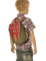 Sac Gouter 1 Compartiment Kickers Vert pre kids garcon 502310-vue-porte