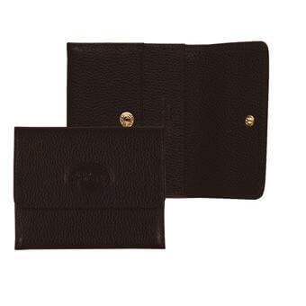 Longchamp Veau foulonné Porte monnaie Marron