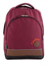 Backpack 2 Compartments Cameleon Violet basic girl 15F-BOR