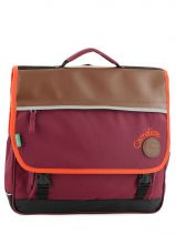 Satchel 3 Compartments Cameleon Violet basic girl 15F-CA41
