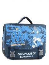 Satchel 2 Compartments Olympique de marseille Blue om 153O203S