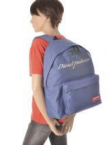 Backpack Diesel Blue sucess DJO12006-vue-porte