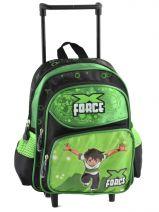 Wheeled Backpack Miniprix Black boy F214