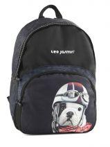 Backpack 1 Compartment Teo jasmin Black travel TEJ22037