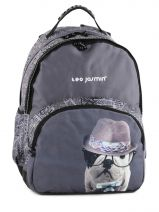 Backpack 2 Compartments Teo jasmin Beige travel TEJ22074