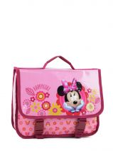 Satchel 1 Compartment Minnie Pink happy girl 23416HAP