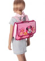 Satchel 1 Compartment Minnie Pink happy girl 23416HAP-vue-porte