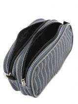 Trousse 2 Compartiments Mlb/new-york yankees Noir couture NYX20010-vue-porte