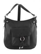 Shoulder Bag Confort Leather Hexagona Black confort 465005
