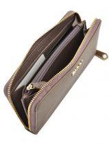 Purse Leather Dkny Beige bryant park saffiano R9921110-vue-porte