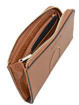 Purse Leather Etrier Brown paris EPAR92-vue-porte