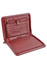 Briefcase Katana Red authentic 6894-vue-porte