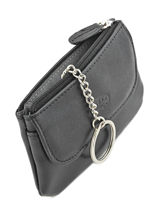 Purse Leather Katana Black daisy 553120-vue-porte