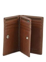Card Holder Leather Petit prix cuir Brown elegance SA907-vue-porte