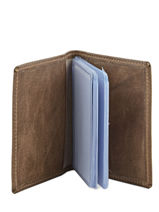 Card Holder Leather Etrier Beige antik 708021-vue-porte
