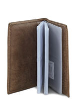 Card Holder Leather Etrier Beige antik 708023-vue-porte