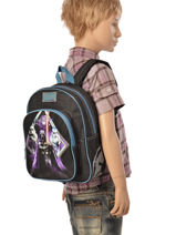 Backpack Mini Star wars Black force 570-6980-vue-porte