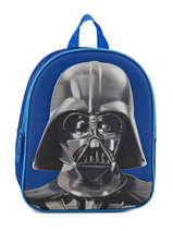 Sac à Dos Mini 1 Compartiment Star wars Bleu 3d 570-7127