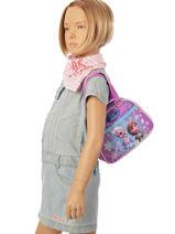 Bag Mini Reine des neiges Violet cristal 208615-vue-porte