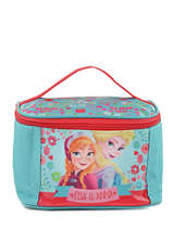 Beauty Case Frozen Bleu elsa et anna 8813