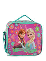Lunch Bag Frozen Violet elsa et anna 8853
