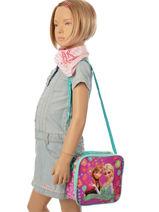 Lunch Bag Frozen Violet elsa et anna 8853-vue-porte