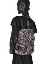 Backpack Kipling Multicolor 13108-vue-porte