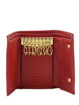 Porte-clefs Cuir Katana Rouge marina 753026-vue-porte