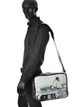 Messenger Bag Kothai Multicolor reporter - 0000RB16-vue-porte