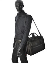 Backpack Tumi Black alpha DH26180-vue-porte