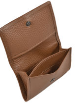 Card Holder Leather Etrier Brown manon 770016-vue-porte