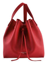 Crossbody Bag Lancaster Red pur 422-18