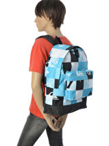 Backpack 1 Compartment Quiksilver Blue backpacks YBP03140-vue-porte