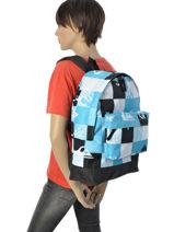 Sac à Dos 1 Compartiment Quiksilver Bleu backpacks YBP03140-vue-porte