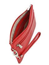 Case Leather Hexagona Red confort 467213-vue-porte