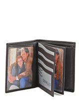 Wallet Leather Crinkles Brown 14089-vue-porte